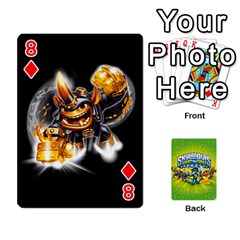Swap Force Cards By Szakismash   Playing Cards 54 Designs   Ddb5du3i0ymr   Www Artscow Com Front - Diamond8