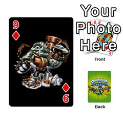 Swap Force Cards By Szakismash   Playing Cards 54 Designs   Ddb5du3i0ymr   Www Artscow Com Front - Diamond9
