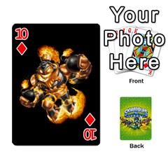 Swap Force Cards By Szakismash   Playing Cards 54 Designs   Ddb5du3i0ymr   Www Artscow Com Front - Diamond10