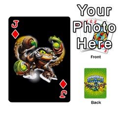 Jack Swap Force Cards By Szakismash   Playing Cards 54 Designs   Ddb5du3i0ymr   Www Artscow Com Front - DiamondJ
