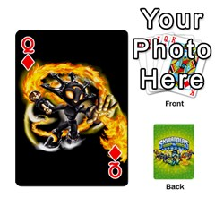 Queen Swap Force Cards By Szakismash   Playing Cards 54 Designs   Ddb5du3i0ymr   Www Artscow Com Front - DiamondQ
