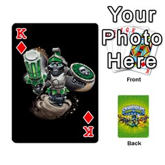 King Swap Force Cards By Szakismash   Playing Cards 54 Designs   Ddb5du3i0ymr   Www Artscow Com Front - DiamondK