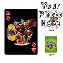 Ace Swap Force Cards By Szakismash   Playing Cards 54 Designs   Ddb5du3i0ymr   Www Artscow Com Front - DiamondA