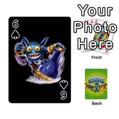 Swap Force Cards By Szakismash   Playing Cards 54 Designs   Ddb5du3i0ymr   Www Artscow Com Front - Spade6