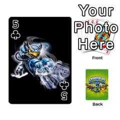 Swap Force Cards By Szakismash   Playing Cards 54 Designs   Ddb5du3i0ymr   Www Artscow Com Front - Club5