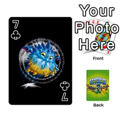 Swap Force Cards By Szakismash   Playing Cards 54 Designs   Ddb5du3i0ymr   Www Artscow Com Front - Club7
