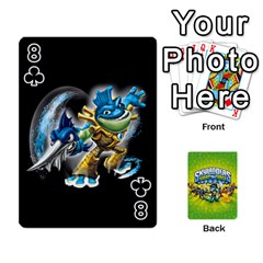 Swap Force Cards By Szakismash   Playing Cards 54 Designs   Ddb5du3i0ymr   Www Artscow Com Front - Club8