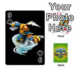 Swap Force Cards By Szakismash   Playing Cards 54 Designs   Ddb5du3i0ymr   Www Artscow Com Front - Club9