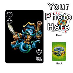 Swap Force Cards By Szakismash   Playing Cards 54 Designs   Ddb5du3i0ymr   Www Artscow Com Front - Club10
