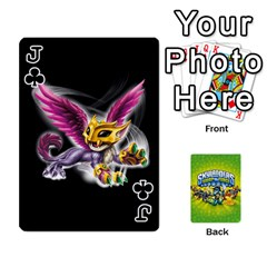 Jack Swap Force Cards By Szakismash   Playing Cards 54 Designs   Ddb5du3i0ymr   Www Artscow Com Front - ClubJ
