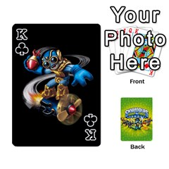 King Swap Force Cards By Szakismash   Playing Cards 54 Designs   Ddb5du3i0ymr   Www Artscow Com Front - ClubK