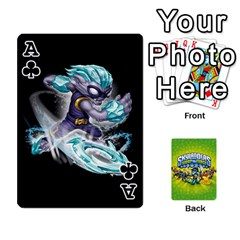 Ace Swap Force Cards By Szakismash   Playing Cards 54 Designs   Ddb5du3i0ymr   Www Artscow Com Front - ClubA
