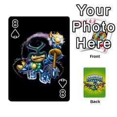 Swap Force Cards By Szakismash   Playing Cards 54 Designs   Ddb5du3i0ymr   Www Artscow Com Front - Spade8