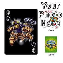 Swap Force Cards By Szakismash   Playing Cards 54 Designs   Ddb5du3i0ymr   Www Artscow Com Front - Spade9