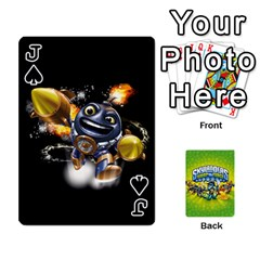 Jack Swap Force Cards By Szakismash   Playing Cards 54 Designs   Ddb5du3i0ymr   Www Artscow Com Front - SpadeJ