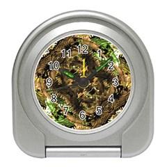 Artificial Tribal Jungle Print Desk Alarm Clock