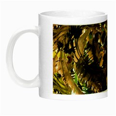 Artificial Tribal Jungle Print Glow In The Dark Mug by dflcprints