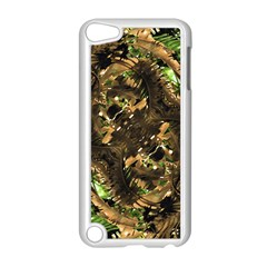 Artificial Tribal Jungle Print Apple Ipod Touch 5 Case (white) by dflcprints