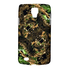 Artificial Tribal Jungle Print Samsung Galaxy S4 Active (i9295) Hardshell Case by dflcprints