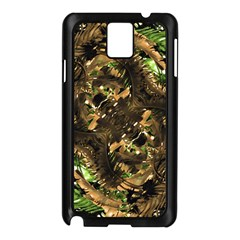 Artificial Tribal Jungle Print Samsung Galaxy Note 3 N9005 Case (black) by dflcprints