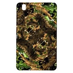 Artificial Tribal Jungle Print Samsung Galaxy Tab Pro 8 4 Hardshell Case by dflcprints