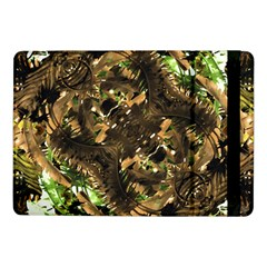 Artificial Tribal Jungle Print Samsung Galaxy Tab Pro 10 1  Flip Case by dflcprints