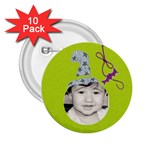 2.25 button 10 pack - 2.25  Button (10 pack)