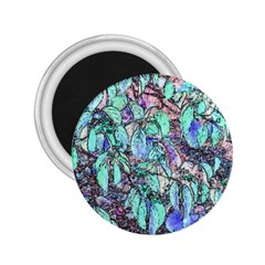 Colored Pencil Tree Leaves Drawing 2 25  Button Magnet by LokisStuffnMore