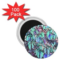 Colored Pencil Tree Leaves Drawing 1 75  Button Magnet (100 Pack) by LokisStuffnMore