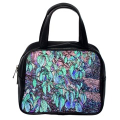 Colored Pencil Tree Leaves Drawing Classic Handbag (one Side) by LokisStuffnMore