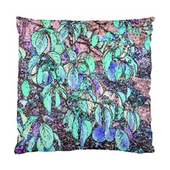 Colored Pencil Tree Leaves Drawing Cushion Case (single Sided)  by LokisStuffnMore