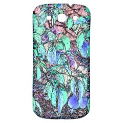 Colored Pencil Tree Leaves Drawing Samsung Galaxy S3 S Iii Classic Hardshell Back Case by LokisStuffnMore