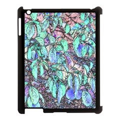 Colored Pencil Tree Leaves Drawing Apple Ipad 3/4 Case (black) by LokisStuffnMore