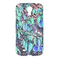 Colored Pencil Tree Leaves Drawing Samsung Galaxy S4 I9500/i9505 Hardshell Case by LokisStuffnMore