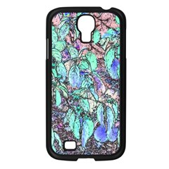 Colored Pencil Tree Leaves Drawing Samsung Galaxy S4 I9500/ I9505 Case (black) by LokisStuffnMore