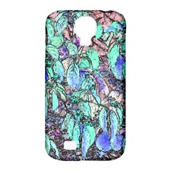 Colored Pencil Tree Leaves Drawing Samsung Galaxy S4 Classic Hardshell Case (pc+silicone) by LokisStuffnMore