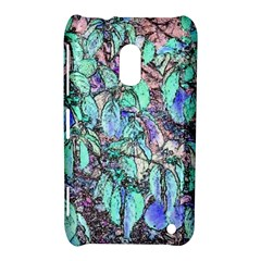 Colored Pencil Tree Leaves Drawing Nokia Lumia 620 Hardshell Case by LokisStuffnMore