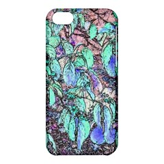 Colored Pencil Tree Leaves Drawing Apple Iphone 5c Hardshell Case by LokisStuffnMore