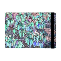 Colored Pencil Tree Leaves Drawing Apple Ipad Mini 2 Flip Case
