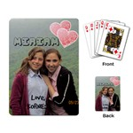 Miriam Schreiber bday cards - Playing Cards Single Design