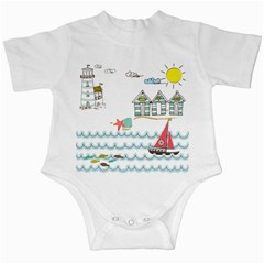 Summer Holiday Infant Bodysuit by whitemagnolia