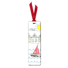 Summer Holiday Small Bookmark by whitemagnolia