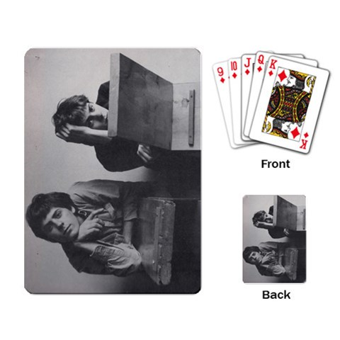 Poker Cards Review By Joni   Playing Cards Single Design   Qmnh35uc856q   Www Artscow Com Back