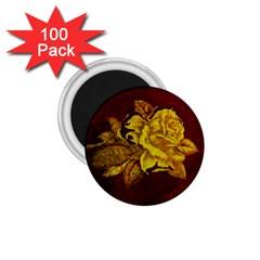 Rose 1 75  Button Magnet (100 Pack) by ankasdesigns
