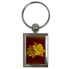 Rose Key Chain (rectangle) by ankasdesigns