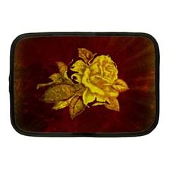 Rose Netbook Sleeve (medium) by ankasdesigns