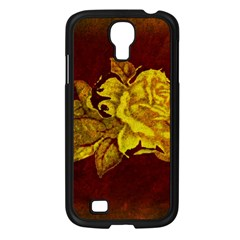 Rose Samsung Galaxy S4 I9500/ I9505 Case (black) by ankasdesigns