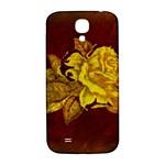 Rose Samsung Galaxy S4 I9500/I9505  Hardshell Back Case Front