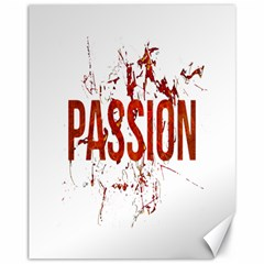 Passion And Lust Grunge Design Canvas 11  X 14  (unframed) by dflcprints