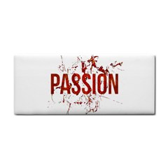 Passion And Lust Grunge Design Hand Towel by dflcprints